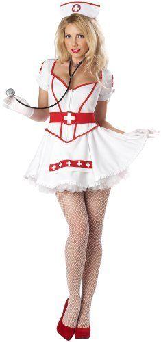 California Costumes Nurse Heart Breaker Set...