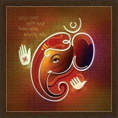Ganesh Paintings Ganesha Drawing, Lord Ganesha Paintings, Ganesha Art, Krishna Painting, Buddha Painting, 3d Painting, Ganesh Pic, Glass Painting Designs, Rangoli Designs Images