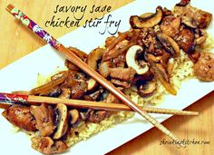 Savory Sage Chicken Stir Fry (Serves 4) WWPP=10 #entree