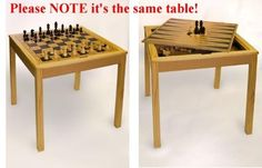 Sterling Games 3 in 1 Chess Table