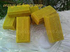 φυσικά καλλυντικά, αλχημείες & ελιξίρια: Σαπούνι με πορτοκάλι και μέλι