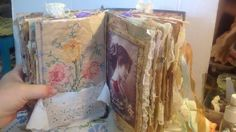 Vintage Altered book junk journal...custom order
