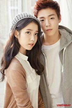 IU and Lee Hyun Woo for Unionbay Spring/Summer 2015 Ad Campaign