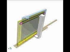Telescopic sliding gate - YouTube