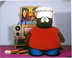 Isaac Hayes Signed South Park Chef Autographed 8X10 Photo () #J64984 @ niftywarehouse.com #NiftyWarehouse #Nerd #Geek #Entertainment #TV #Products