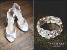 Elise & Aaryn Wedding Day First Look: Colonnade, Sandusky OH | Ben & Les Photography - Columbus Wedding Photographers