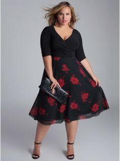 Isadora Plus Size Dress - Plus Size Intro to Fall by IGIGI
