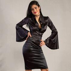 "dress designer op Instagram: ""#satin #silkdress"""