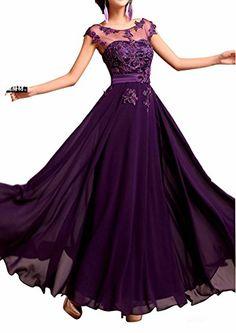 Junai Women's Chiffon Capped Long Evening Dress Purple US 2 LOVEBEAUTY http://www.amazon.com/dp/B00RYTT46Q/ref=cm_sw_r_pi_dp_Yl6Gvb0M9RVED