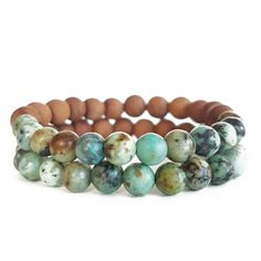 Energy Stacks - High Vibrational Gemstone Bracelets by Megan Hallman Gemstone Bracelets, Gemstone Jewelry, Unique Jewelry, How To Make Tassels, Ancient Civilizations, Rose Quartz, Turquoise Bracelet, Amethyst, African