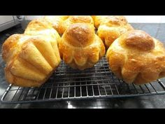 Brioche a wonderful enriched bread, with lots of butter, eggs and milk. Shaped with a little 'head' and placed into a mould they bake wonderfully and result . Brioche Bread, Yeast Bread, Egg Cake, Milk And Eggs, Bread Cake, Bread Board, Muffin Tins, Bread N Butter, Instant Yeast