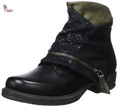 354034-141001, Boots femme - Noir, 41 EUDockers by Gerli