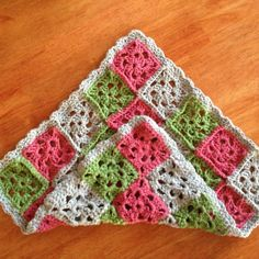 granny square blanket | Granny square dolly blanket