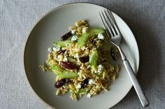Lemon-Dill Orzo Pasta Salad with Cucumbers, Olives, and Feta   Recipe on Food52 recipe on Food52