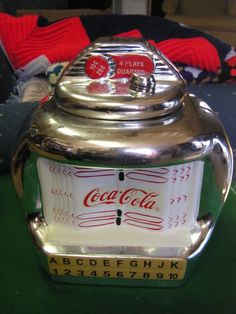 Great Coca Cola Juke Box Cookie Jar by Gibson | eBay