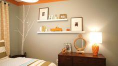 ZDesing At Home - gray/aqua/green/orange toddler Boy's Room