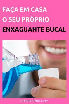 8f7ea11bc Enxaguante Bucal - Como fazer enxaguante bucal caseiro
