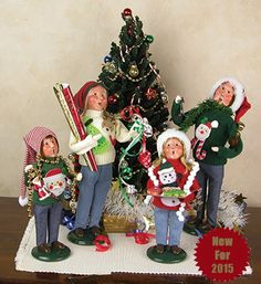 The Jolly Christmas Shop - Set of 4 Byers Choice Ugly Sweater Caroler Family , $288.00 (http://www.thejollychristmasshop.com/set-of-4-byers-choice-ugly-sweater-caroler-family/?page_context=category