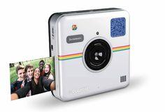 Polaroid Socialmatic Instant Digital Camera New White 2016