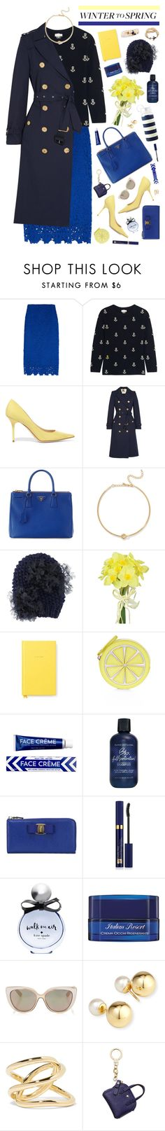 """""""Untitled #258"""" by piccolamarisa ❤ liked on Polyvore featuring J.Crew, Chinti and Parker, Jimmy Choo, Burberry, Prada, Kenneth Jay Lane, Gigi Burris Millinery, Pavilion Broadway, Accessorize and Jao"""