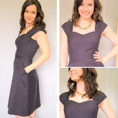 the Cambie Dress -- Pattern available soon.  This would be pretty for my brother's wedding.