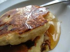 How to make the best pancakes with your quesadilla maker! Faster and fluffier than a regular griddle. Cinnamon spice and Gingerbread pancake recipes. Also banana foster french toast! Vegan Pancake Recipes, Vegetarian Recipes Easy, Breakfast Recipes, Health Breakfast, Healthy Recipes, Banana Oat Pancakes, Tasty Pancakes, Quesadilla Maker Recipes