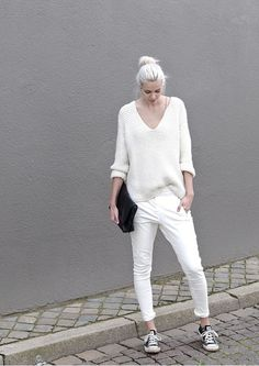 c5e3127d3 almost all white — Amsterdam street style. MODO DE USAR MODA · TREND - BLOG  BUYER & BRAND