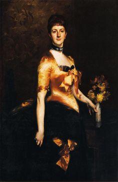 Lady Playfair | John Singer Sargent | oil painting