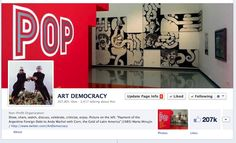 "A COUNTRY IN CRISIS FINDS TIME FOR CULTURE / Art Democracy´s Fb page cover today /  Since its opening - last December- over 200,000 people already visited Ola Pop en el Mar exhibition at MAR - Mar del Plata´s museum of contemporary art (Argentina) . Curated by Rodrigo Alonso, ""Ola Pop"" is a nostalgia-ridden tribute to the avant garde art of the '60s, which left an indelible imprint on Argentine and foreign art with its daring exhibitions, performances and installations,"