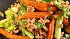 Roasted Carrot and Farro Salad Recipe | The Chew - ABC.com
