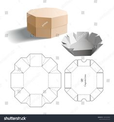 Check out the webpage to see more on Learning Origami Paper Gift Box, Diy Gift Box, Diy Box, Print Packaging, Packaging Design, Box Packaging, 3d Paper Crafts, Diy And Crafts, Paper Box Template