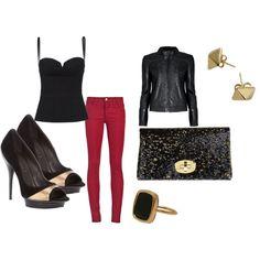 Rocker style from my wardrobe