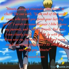 Naruto Show, End Of The World, Hinata, I Can, Parents, Writing, Sayings, Dads, Lyrics