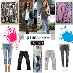 Paint Splatter Trend