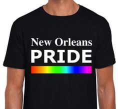 $19.99 NEW ORLEANS PRIDE (MEN) T-shirts (For Sale On Etsy @ ALLGayTees) - COMING SOON! Available November 1st 2015 - Order B4 Black Friday & Cyber Monday (SHOP Thanksgiving & Christmas Holidays) $19.99 - -> @ ALLGayTees on Etsy | World's Hottest LGBT & Pride Shirts Online | https://www.etsy.com/shop/ALLGayTees