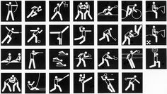 1988 Seoul Olympic Games Pictograms