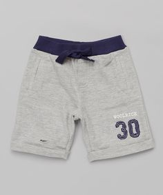 This Woolrich Heather Gray Knit Shorts - Infant, Toddler & Boys by Woolrich is perfect! #zulilyfinds