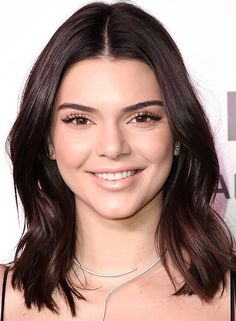 """If your hair can't hold a curl for longer than 10 minutes—which, although we've never asked, is probably the situation with Kendall Jenner—a cut like this one will bring it to life. """"This cut will give even dead, straight hair body and movement,"""" says Cho. """"It also brings out natural texture you never knew you had."""""""