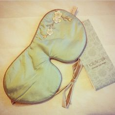 """Lavender Eye Mask in Jade Blossom added by @gabibroz """"This lavender filled eye mask from Holistic Silk was almost 2 years on my wish list! It was time to get it!"""""""