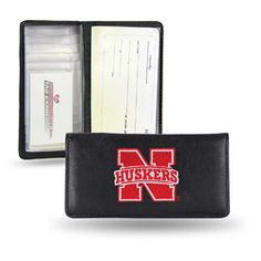Nebraska Cornhuskers  Checkbook Holder (Embroidered)