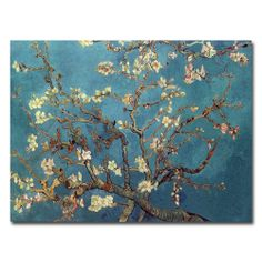 Vincent van Gogh 'Almond Blossoms' Canvas Art | Overstock.com Shopping - Top Rated Trademark Fine Art Canvas