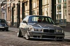 BMW E36 3 series grey
