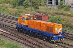 ČKD Diesel-electric locomotive from CKD 770 series in Latvia