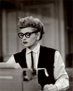 i love lucy -- she never fails to make me feel better.