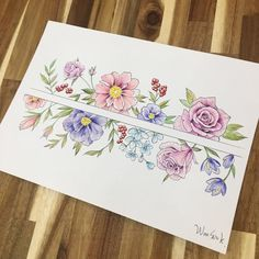 ∥Flower illust∥Arm band design∥ .  .  .  #illust #tattoo #tattoodesign #wonseok #tattooist #pastel #tattoos #flowerillustration #pen #illusttattoo #watercolortattoo #flowertattoo #flowerstattoo #armtattoo #라인타투 #타투도안 #도안 #타투이스트 #대학로 #타투이스트원석 #pasteltattoo #일러스트 #watercolortattoo #수채화타투 #혜화역 #홍대타투 #Artship #꽃타투 #타투