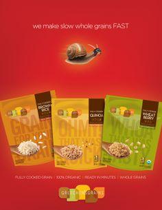 Gretchen's Grains by Foerstel Design , via Behance