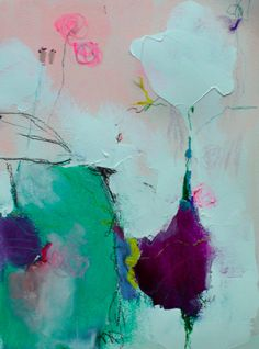 Jenny Andrews-Anderson: Voyage; acrylic, charcoal, and oil pastel