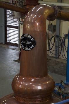 Distillation at Glenfiddich Distillery, Scotland