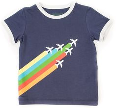 t-shirt Billy Planes Navy | Lily Balou | t-shirts