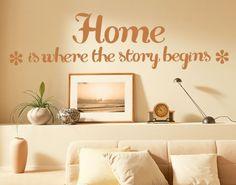 Lovely  Wandtattoo Spr che Wandspr che No EK Homestory Wandideen Wandgestaltung Familie